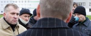 Minister, anna aru! Foto: Erik Prozes, Äripäev