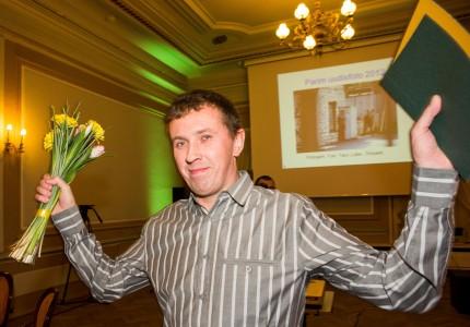 Aasta Pressifoto 2012 peapreemia võitja Tairo Lutter. Foto: Erik Prozes